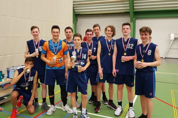Squirrels U16-1 Kampioen!